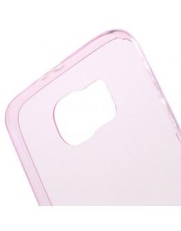 Carcasa protectie spate 0.6mm din gel TPU pentru Samsung Galaxy S6 G920 - roz