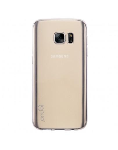 Carcasa protectie spate 0.6mm LENUO pentru Samsung Galaxy S7 G930, transparenta