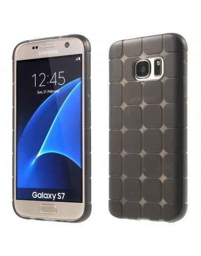 Carcasa de protectie din gel TPU CS pentru Samsung Galaxy S7 G930, gri