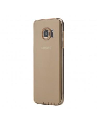Carcasa de protectie spate din gel TPU ROCK pentru Samsung Galaxy S7 G930, gold