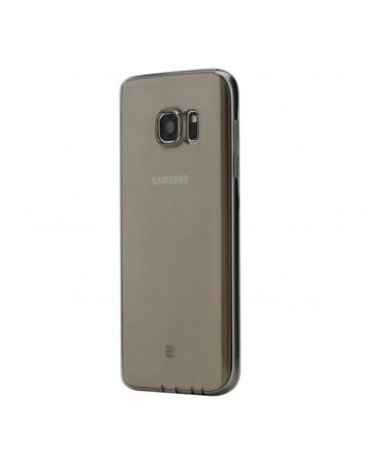 Carcasa de protectie spate din gel TPU ROCK pentru Samsung Galaxy S7 G930, gri
