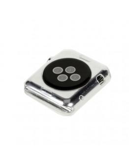 Carcasa protectie din gel TPU pentru Apple Watch 38mm - transparenta