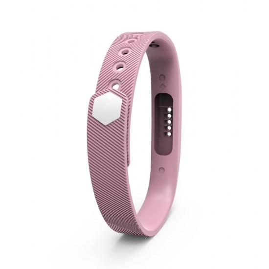 Bratara de rezerva din silicon pentru Fitbit Flex 2, lila