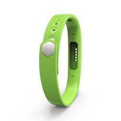 Bratara de rezerva din silicon pentru Fitbit Flex 2, verde