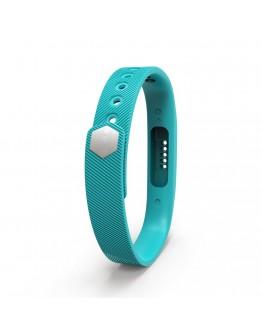 Bratara de rezerva din silicon pentru Fitbit Flex 2, turcoaz