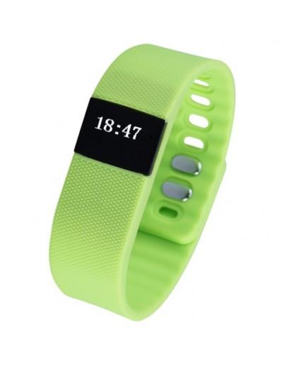 Bratara fitness AOLUGUYA S15 cu bluetooth - verde