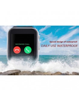 Smartwatch cu telefon incorporat GT08, camera, bluetooth - negru
