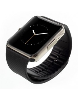 Smartwatch cu telefon incorporat GT08, camera, bluetooth - gold
