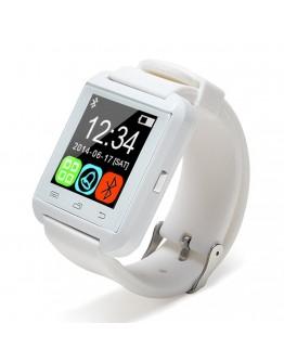 Ceas Smartwatch cu bluetooth Uwatch U8 - alb