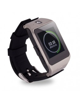 Smartwatch cu telefon incorporat UHAPPY UW1, camera, bluetooth - argintiu