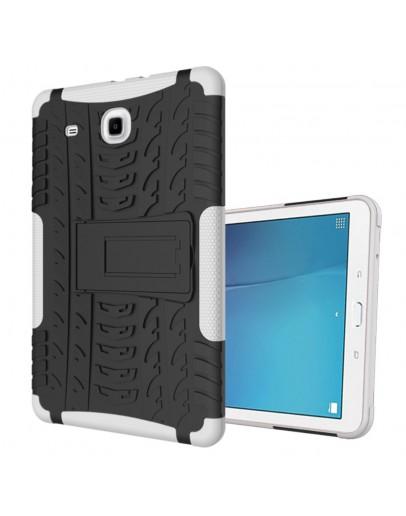 "Carcasa protectie spate CS cu suport pentru Samsung Galaxy Tab E 9.6"" T560/T561, alba"