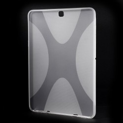 "Carcasa protectie spate din gel TPU pentru Samsung Galaxy Tab S2 9.7"" - transparenta"