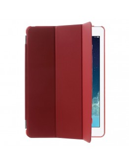 Pachet Smart Cover magnetic + Carcasa protectie spate pentru IPAD AIR, rosu