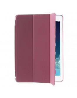 Pachet Smart Cover magnetic + Carcasa protectie spate pentru IPAD AIR, roz