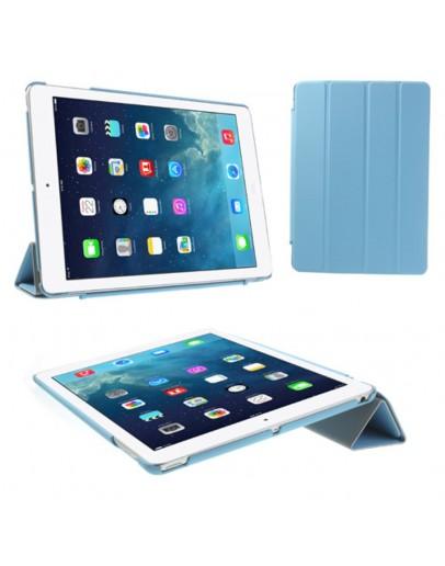 Husa protectie Smart Cover pentru iPad Air 1, albastru deschis