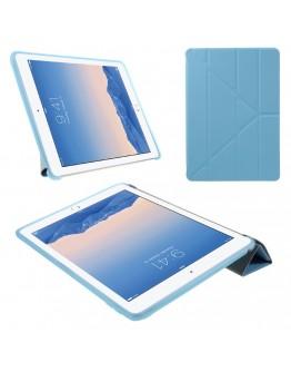 Husa protectie cu spate din gel TPU CS pentru iPad Air 2, albastra