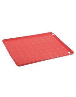 Carcasa protectie spate tip mesh pentru IPAD AIR 2 - rosie