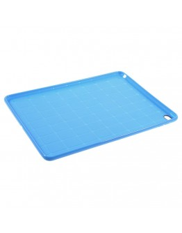 Carcasa protectie spate tip mesh pentru IPAD AIR 2 - albastra