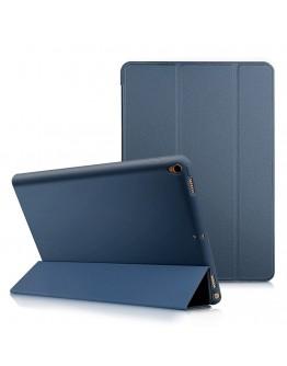 """Husa de protectie din piele ecologica si gel TPU pentru iPad Pro 10.5"""" (2017), albastra"""