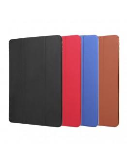Husa protectie din piele ecologica si gel TPU pentru iPad Pro 10.5 (2017), neagra