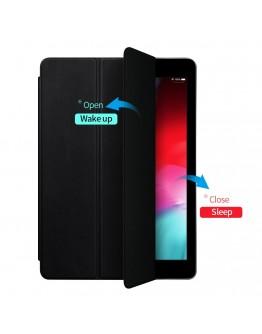 Husa de protectie din piele ecologica si gel TPU pentru iPad Pro 11'' (2018), neagra