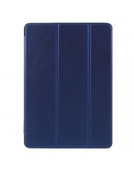 Husa de protectie cu carcasa spate din silicon pentru iPad 9.7 (2017), albastru inchis