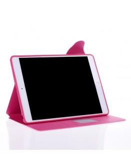 Husa protectie Smart Cover din piele ecologica pentru IPAD AIR - roz