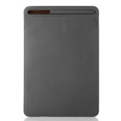 Husa plic cu slot pentru stilou pentru iPad Pro 12.9 inch (2nd generation), gri