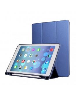 Husa cu spate din gel TPU pentru iPad Pro 12.9 inch (2nd generation), albastra