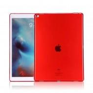 Carcasa protectie spate subtire din gel TPU pentru iPad Pro 12.9 (2015), rosie